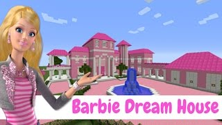 vuclip Minecraft - MANSÃO BARBIE DREAM HOUSE (Mansion Barbie Dream House)