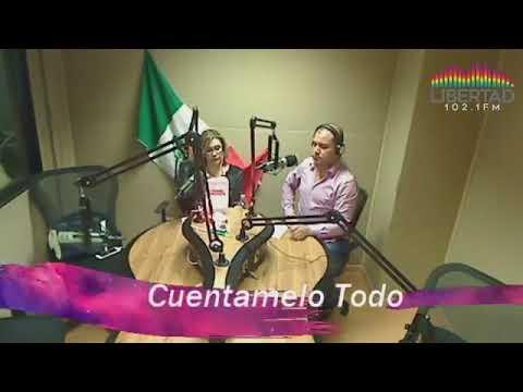Entrevista radio desde Monterrey, estación Libertad 102.1 Tema La salud mental en el trabajo