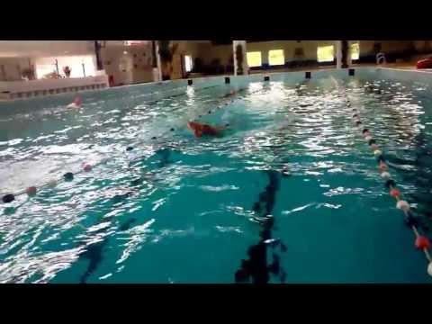Training in Tiel voor WTG Durban. Zwemteam Sport en Transplantatie.
