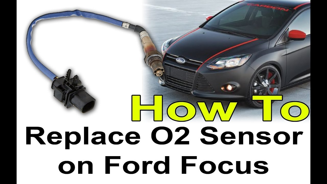 how to replace oxygen o2 sensor on ford focus youtube. Black Bedroom Furniture Sets. Home Design Ideas