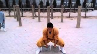Шаолиньские упражнения с гирей