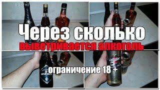 Через сколько выветривается алкоголь из организма? Видео версия. Просто о сложном.(Подобрал немного полезной информации - эксперимент, по выветриванию алкоголя из крови. Возможно вам будет..., 2015-12-23T15:33:09.000Z)