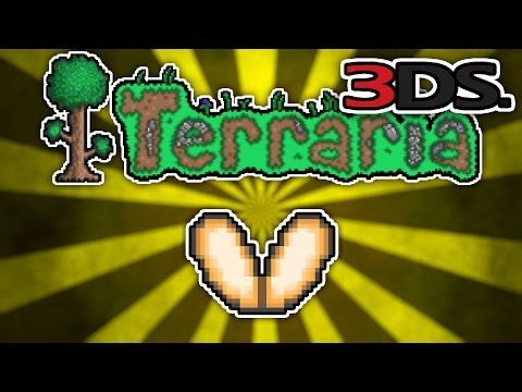 Terraria 3DS - Part 43: FAIRY WINGS (Nintendo 3DS Playthrough)