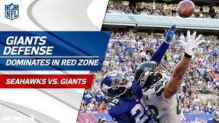 New York Holds Seattle Scoreless on 9 Plays Inside the 10-Yd Line! | Seahawks vs. Giants | NFL Wk 7