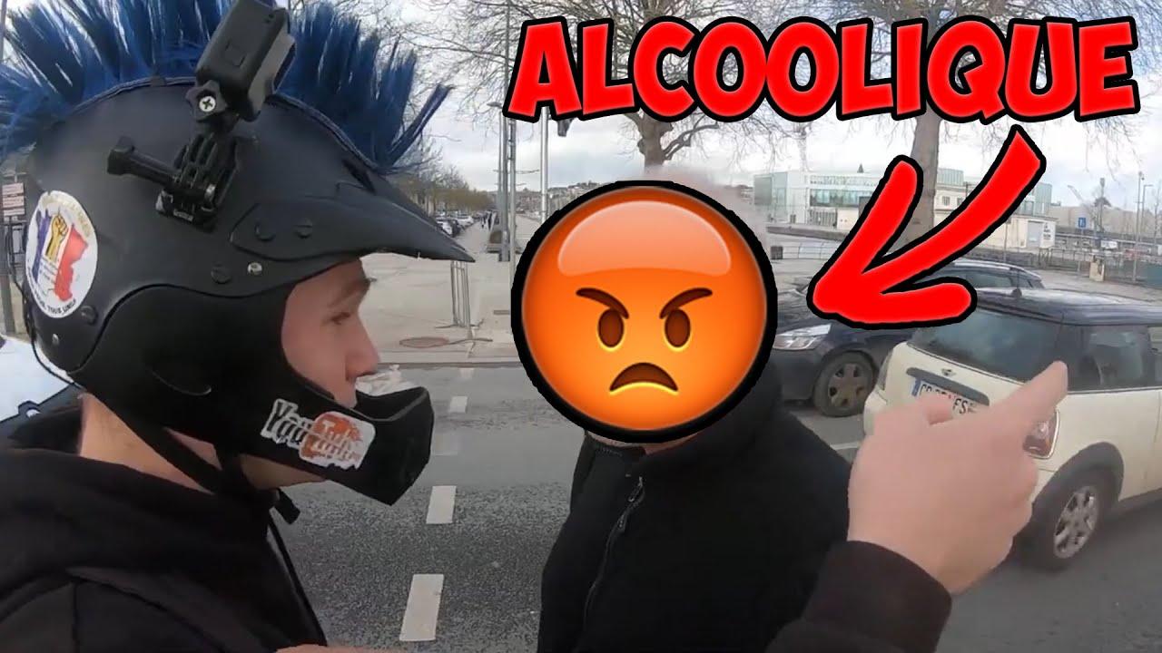 3 ROAD RAGE FRANÇAIS #40   ALCOOLIQUE EN COLÈRE, INSULTES ET MAUVAISE FOI !!