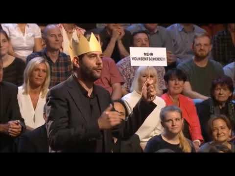 Es ist Zeit: Volksentscheid - bundesweit! (Die Anstalt vom 19.9.17)