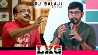 "Nanjil Sampathன் உண்மையான முகம்"" | LKG | RJ Balaji Reveals True Face of Nanjil Sampath!"