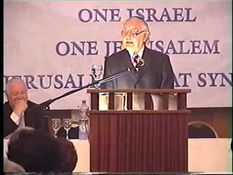 Ambassador Yehuda Avner: The Prime Ministers - Jerusalem Great Synagogue