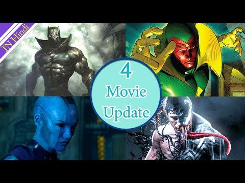 4 Movies UP Date || Venom- Avengers-Black Panther || AG Media News