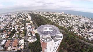 Tallest building in the Caribbean - Torre Caney in Santo Domingo, Dominican Republic | Drone