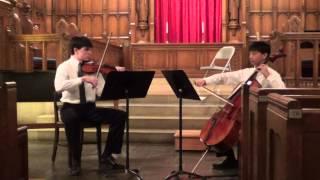 Luigi Borghi - Duet for Violin and Cello, 3rd Mov