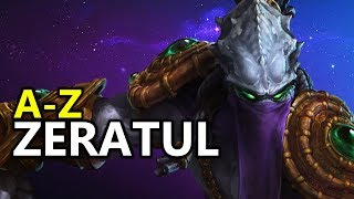 ♥ A - Z Zeratul -  Heroes of the Storm (HotS Gameplay)