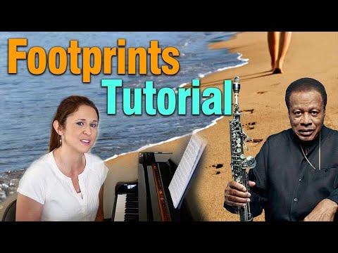 Footprints For Solo Piano (subtítulos disponibles en español)
