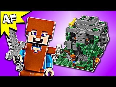 Lego Minecraft JUNGLE TEMPLE 21132 Speed Build