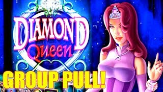 💎 GROUP PLAY 💎 DIAMOND QUEEN $5 BET AT THE COSMO IN VEGAS | SlotTraveler