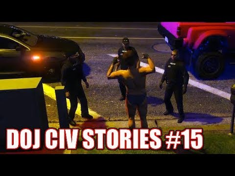 GTA5 RP | DOJ Civ Stories #15 -  Linda's Deadly Weapons
