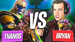 SKABECHE VS THANOS *LO DERROTAMOS (FORTNITE BATTLE ROYALE)