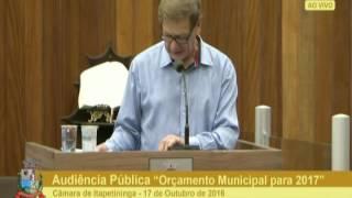 Audiência Pública - Orçamento 2017