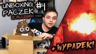 UNBOXING_PACZEK_Z_ALLEGRO,_WYPADEK_PRZY_TEŚCIE!_🔥