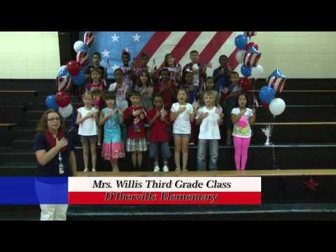 D'Iberville Elementary School - Mrs. Willis' Third Grade Class