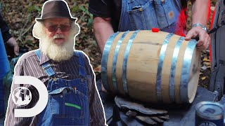 Friend Asks Moonshiners To Make Whiskey For His Own Funeral! | Moonshiners