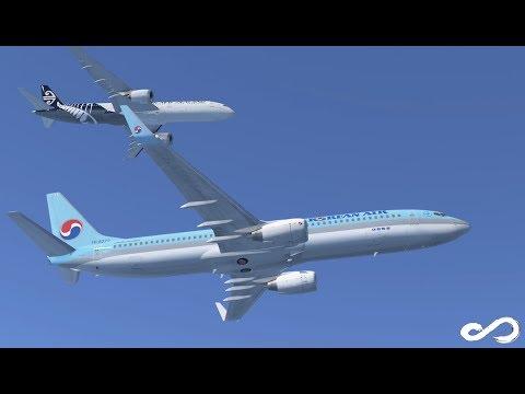 Korean Air B737 - 900 | Incheon to Kansai | Infinite Flight Global