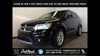 BLACK 2016 Dodge Journey Review Sherwood Park Alberta Park Mazda