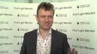Outnumbered Actor Hugh Dennis at the First Light Awards