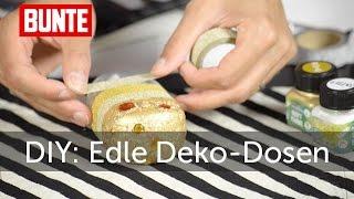 Frag Funda! - Edle Deko-Dosen selber machen   - BUNTE TV