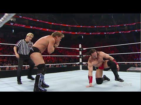 WWE RAW 3/14/16 Chris Jericho vs. Neville...