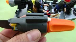 PLAYMOBIL le moteur de bateau test