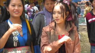 Hmong new year in Luang Prabang 2014-2