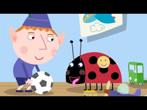 Ben and Holly's Little Kingdom - 1 Hour Episode Compilation - Playing Ball - HD Cartoons for Kids