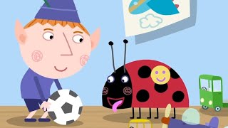 ben and hollys little kingdom   1 hour episode compilation   playing ball   hd cartoons for kids