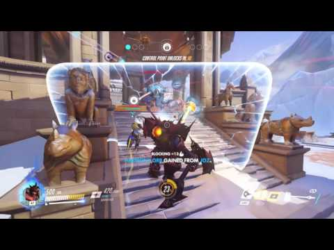 Overwatch - Reinhardt solo comp talk through 2