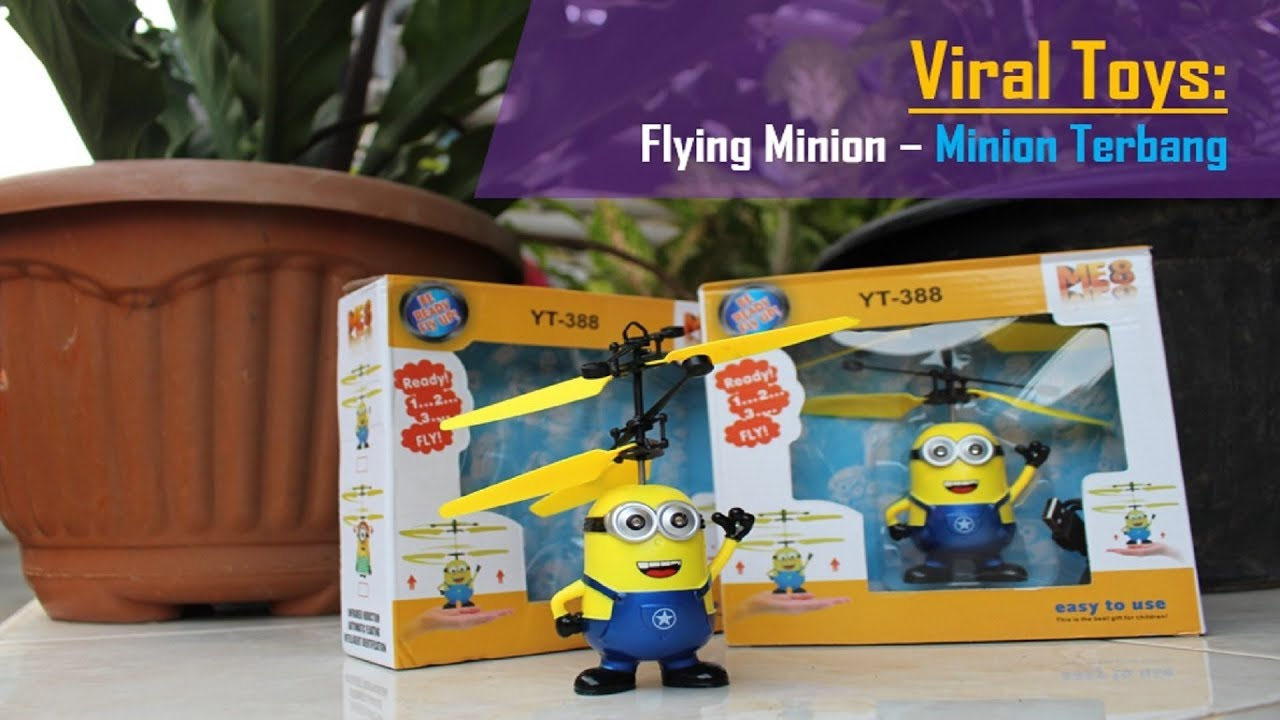 Popular Kid Toys   Flying Minion (Flying Toys) c718d54f1a