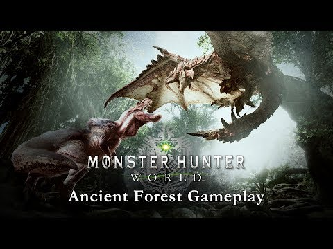 Monster Hunter: World - Ancient Forest Gameplay