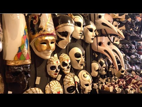 A Glimpse at the History of Venetian Masks