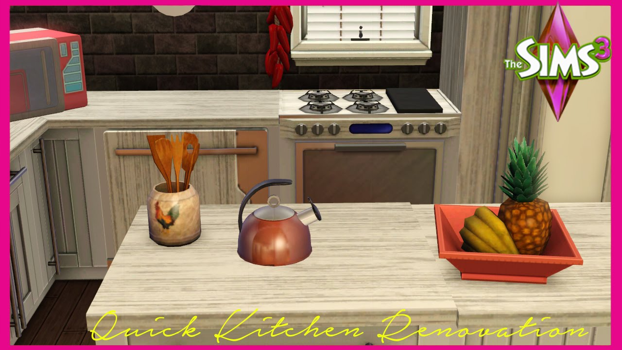 free kitchen makeover 2014 the sims 3 classic kitchen makeover 3561