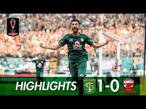 [HIGHLIGHTS] Semifinal Leg 1   Persebaya vs Madura United   Piala Presiden 2019