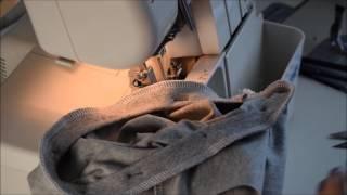 Обработка горловины футболки