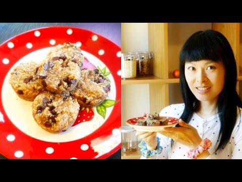 cookies-chocolat-huile-de-coco-et-flocons-d'avoine-[recette-santé-vegan]-[petit-déjeuner-/-goûter]