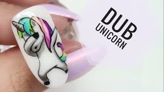 💅💅 :: Dub Unicorn :: 💅💅 Nailart by Natalia