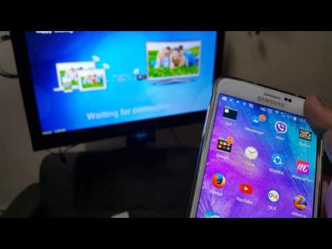 Samsung Note 4 Screen Mirroring To AnyCast