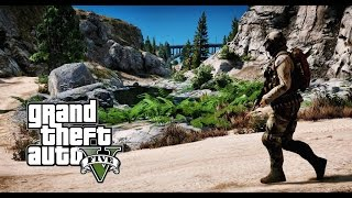► GTA 5 REDUX ✪ Ultra Realistic Graphics MOD - Weapons Shooting -Guns  | 1080p - 60 FPS GTA V
