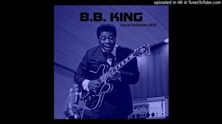 I need your love so bad - B.B.King Live Stockholm 1968