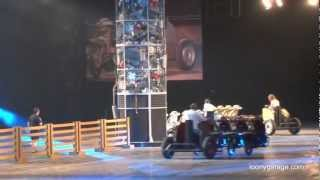 Top Gear Live - Chariot Race