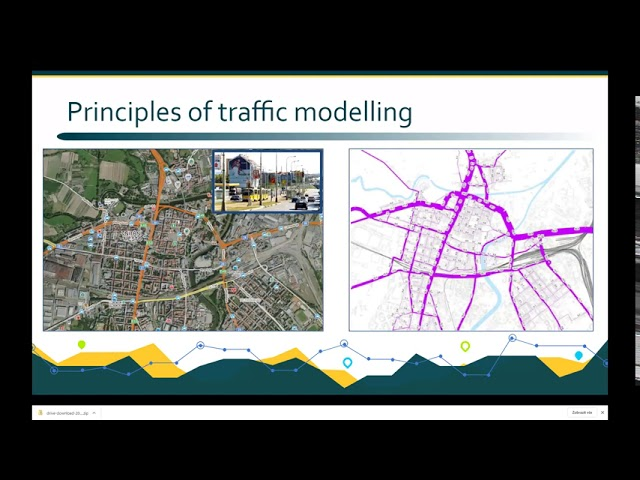 PoliVisu training continues with a webinar on traffic modeling