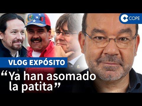 """Expósito y la votación de Podemos y Puigdemont """"a favor"""" de Maduro"""