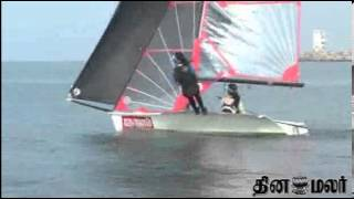 National Boat Race Competition at Chennai - Dinamalar Sep 30th 2013 News in Video